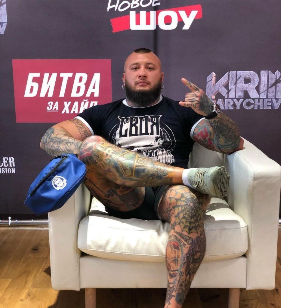 Эдуард Германский — биография, ММА, Hardcore, битва за хайп, околофутбол, блог, татуировки